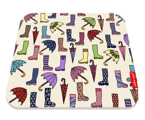 Selina-Jayne Wellies and Brollies Limited Edition Designer Mouse Mat